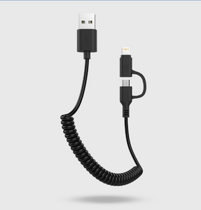 Awei Cl-53 2 in 1 Multi Charging cable