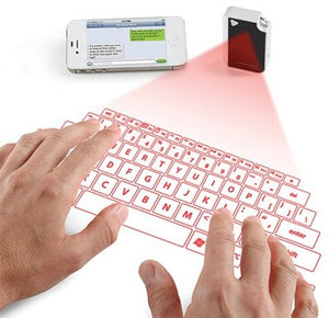 VIRTUAL LASER KEYBOARD - VIRTUAL PROJECTOR
