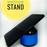 2-in-1 Mini Speaker and Smartphone Stand