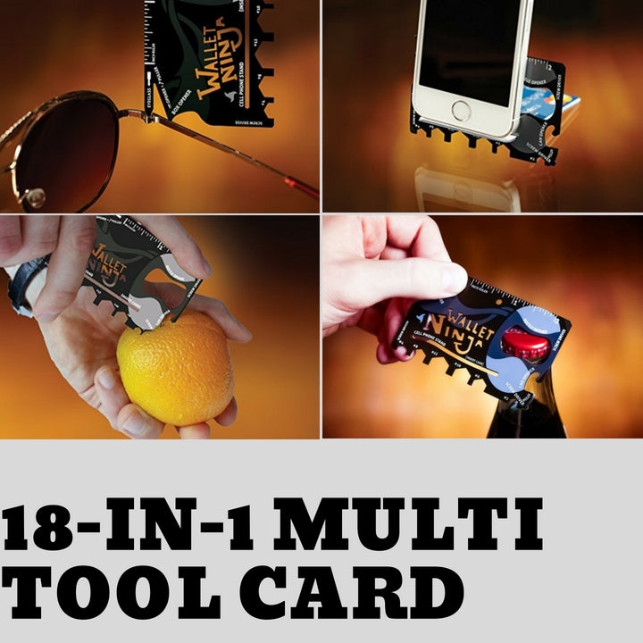 18-in-1 Multi Tool Card (BUY 1 TAKE 1)