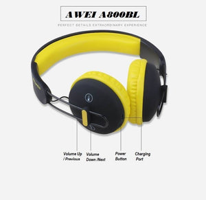 AWEI Wireless Sports Headset A800BL