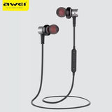 Bluetooth Sports Earphone Stereo With Magnet Absorption Design