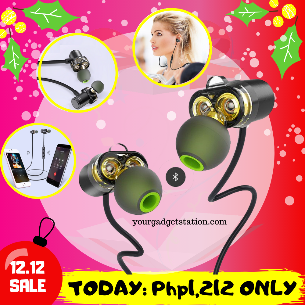 12.12 SALE: The Dual Driver Bluetooth Headset