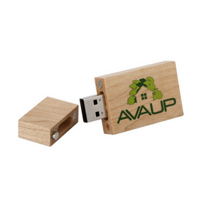 "The ""Woodsman"" USB Flash Drive"