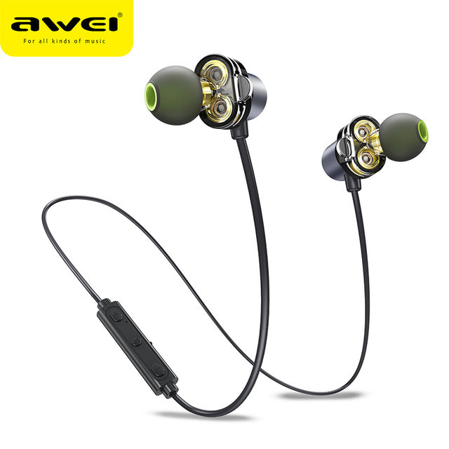 The Dual Driver Bluetooth Headset