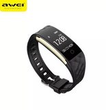 Awei H1 Sports Wristband With Heart Rate Smart (Black)