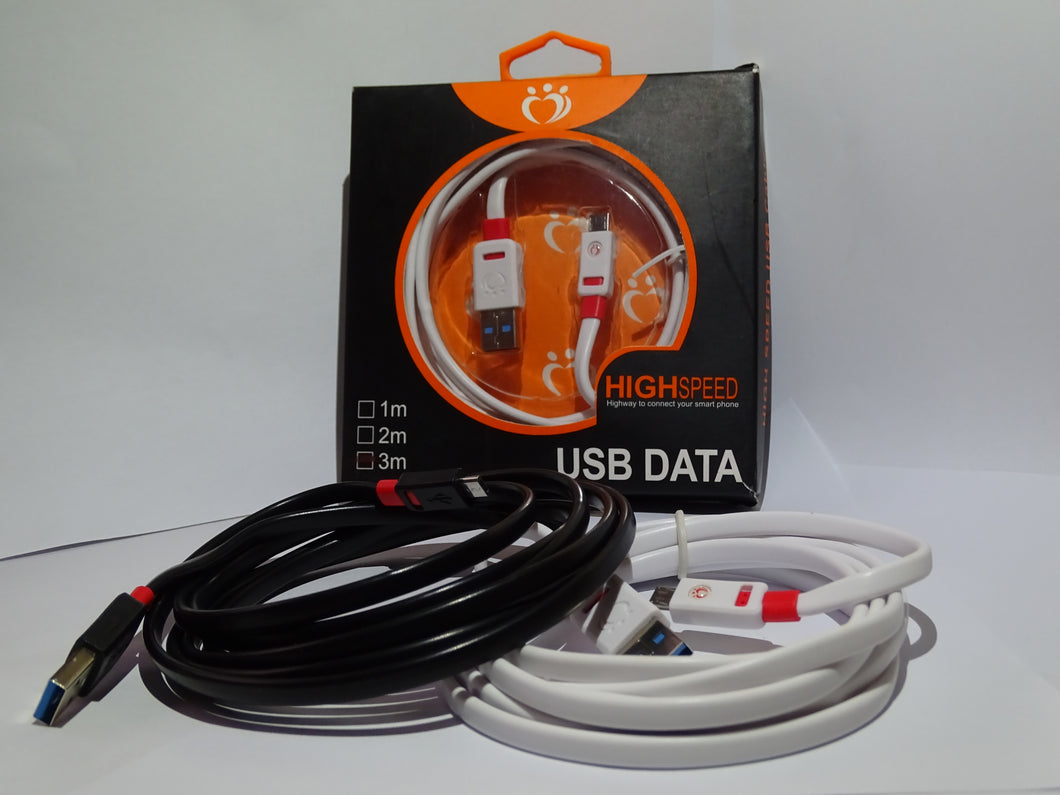 Data Transmit Charging Cable USB Data