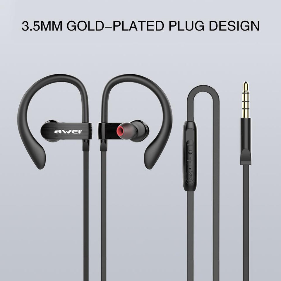 New Ear-hook Smart Sport Earphones
