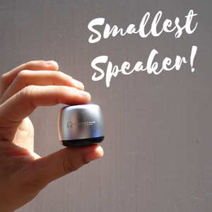 Smallest Bluetooth Speaker (BUY 1 TAKE 1)