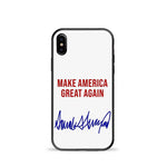 Make America Great Again Trump Signature Phone Cse