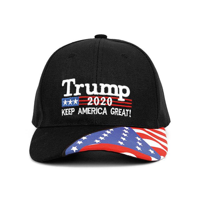 TRUMP 2020 KEEP AMERICA GREAT FLAG BASEBALL HAT