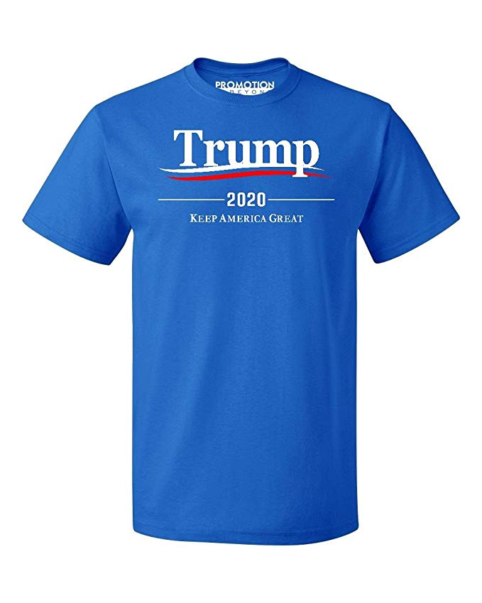 Trump 2020 Keep America Great Wavy Men's T-Shirt