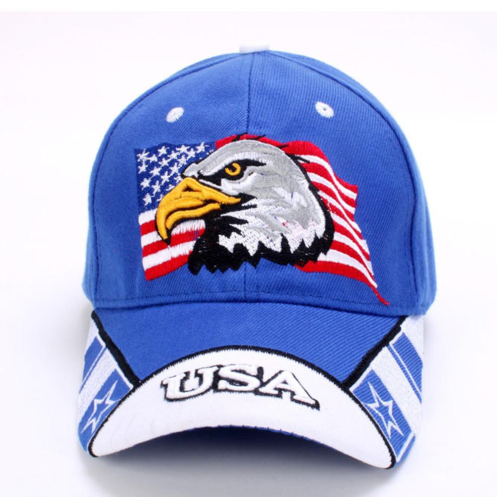 American Flag USA Eagle Baseball Hat