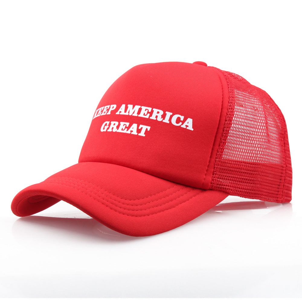 TRUMP KEEP AMERICA GREAT TRUCKER HAT
