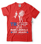Trump Make Liberals Cry Again T shirts