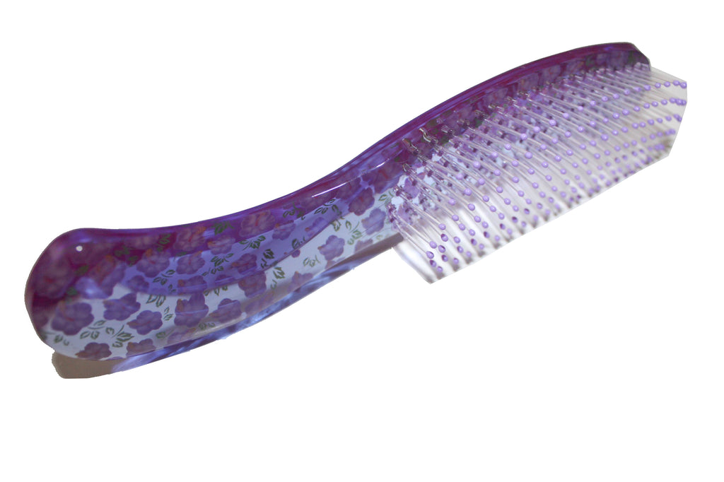 Soft Hair Brush -Purple