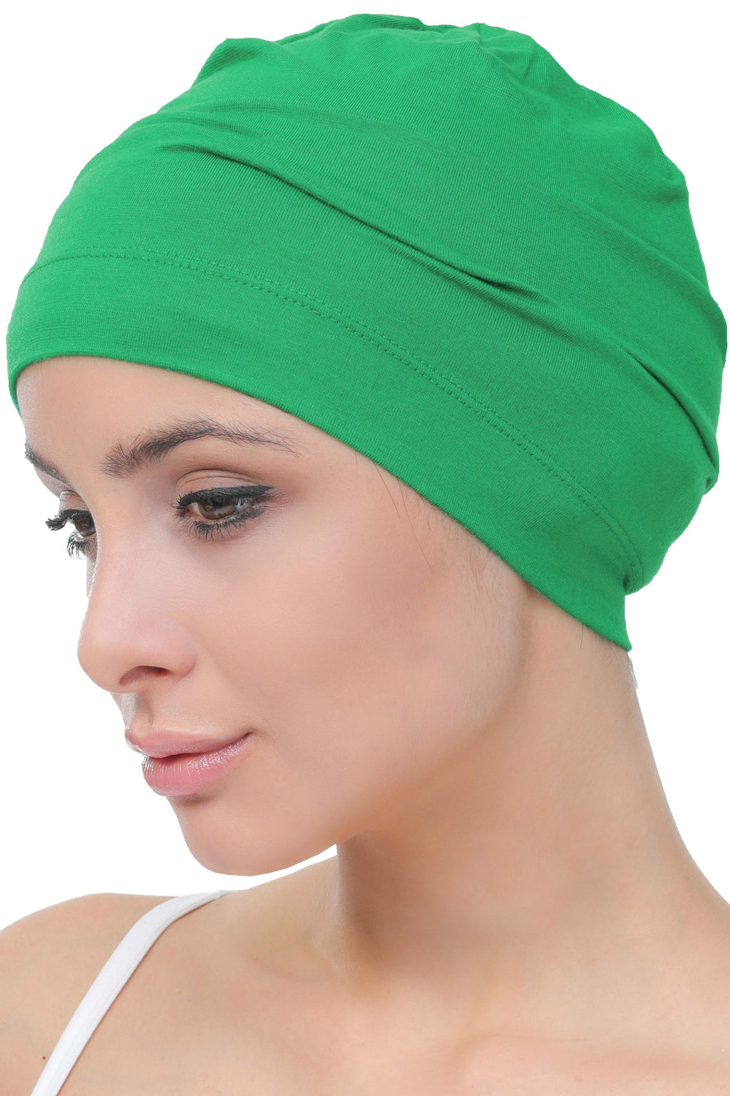 Deresina Unisex chemo sleep cap benetton green