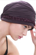 Deresina Braided detail chemo turban boysenberry