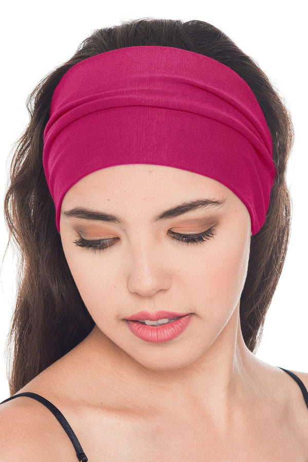 Plain Headband - Cherry