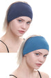 Yogi Headband-Denim/Carolina Blue 2pcs