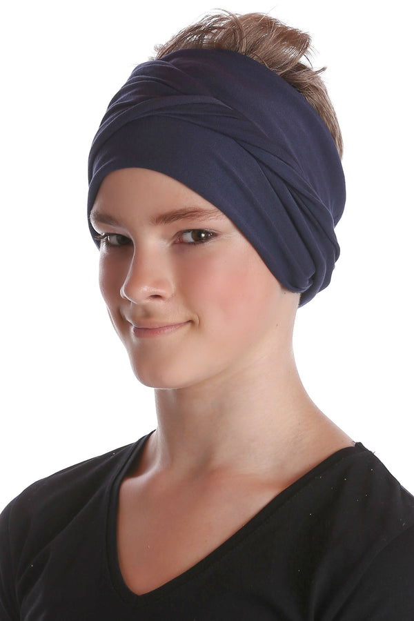 Boys Headband - Denim