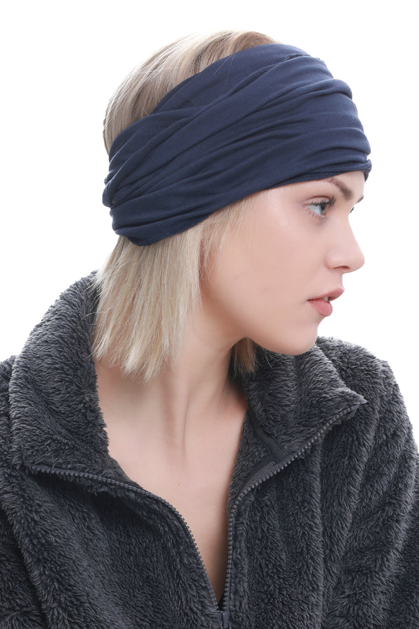Casual Headband-Denim