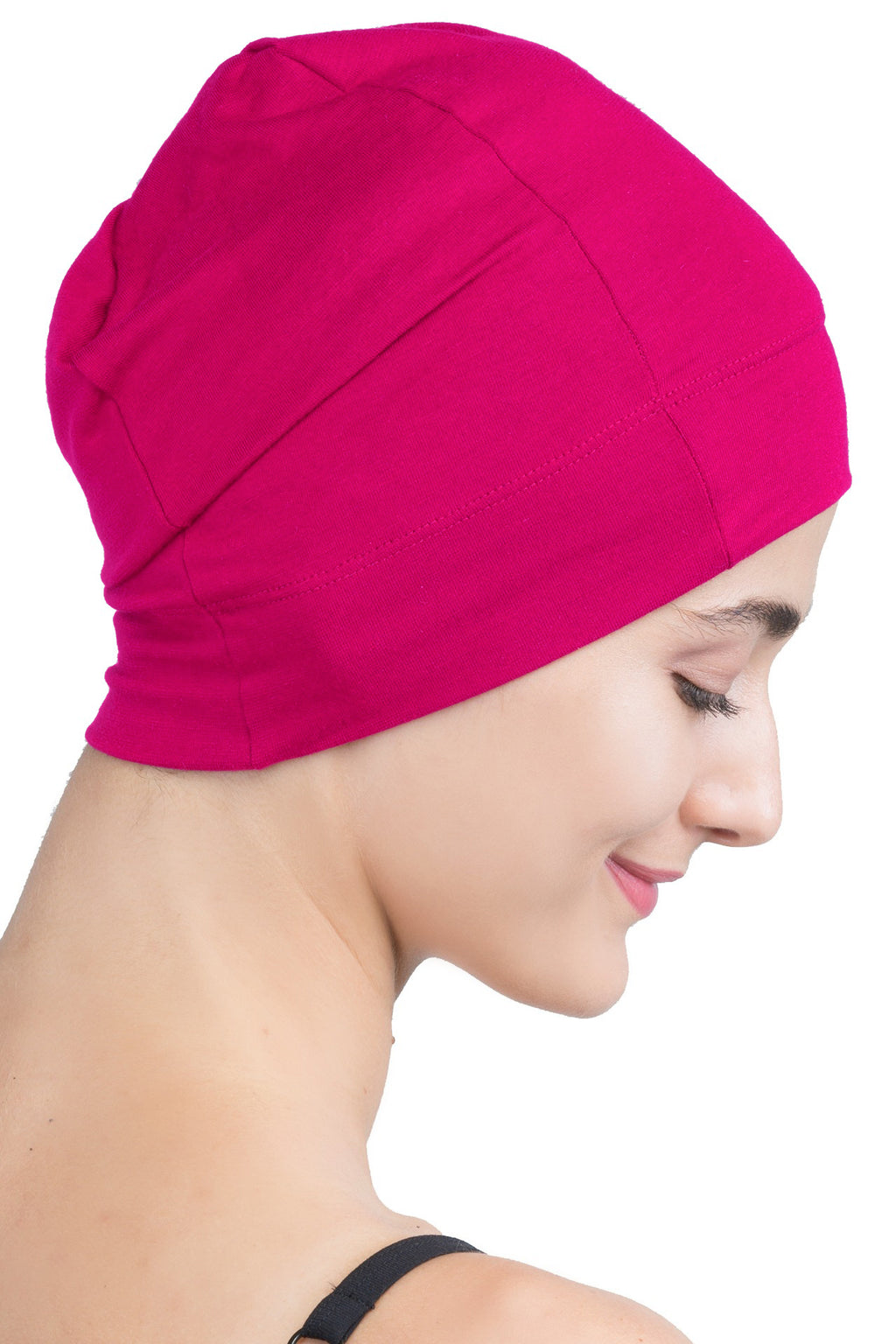 Snug Fit Sleep Cap - Fuschia