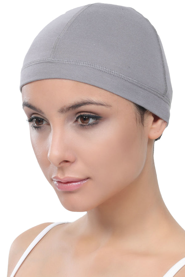 Bamboo Wig Cap - (Grey Pack of two)
