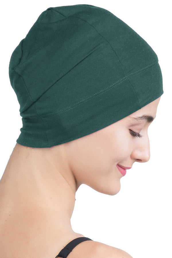 Snug Fit Sleep Cap - Jade Green