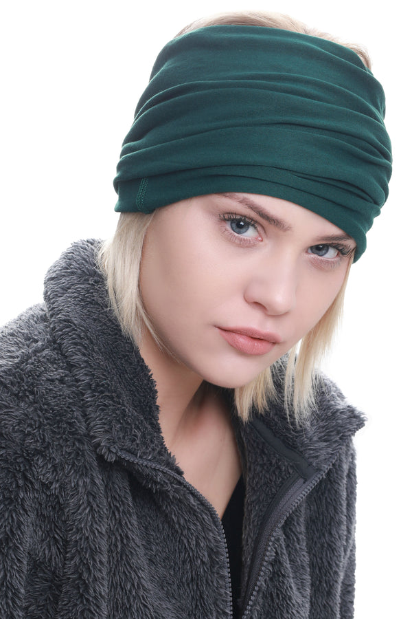 Casual Headband-Jade Green