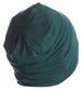 Solid Reversible Beanie for Men - Jade