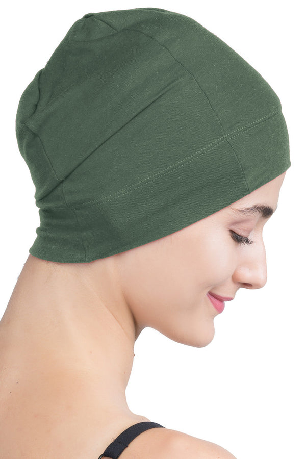 Snug Fit Sleep Cap - Khaki