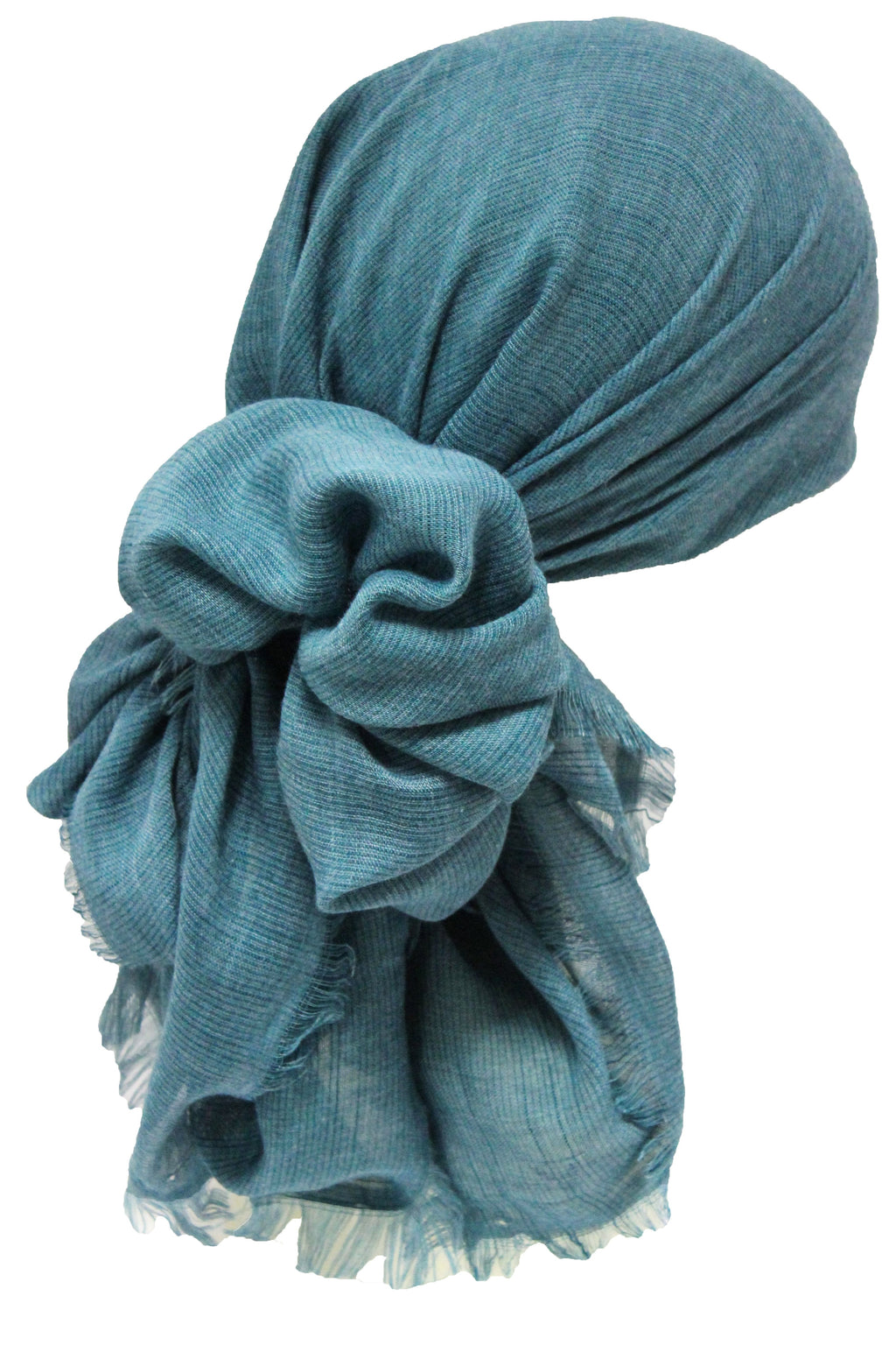 Deresina Seasonal Chemo Headscarf Linum Teal