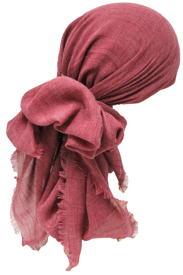 Deresina Seasonal Chemo Headscarf Linum Rose