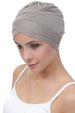 W Front Cotton Cap - Mink