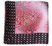 Everyday Square Head Scarf - Mulberry Mustard Dotted End