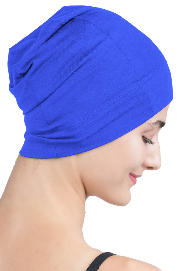 Snug Fit Sleep Cap - Royal