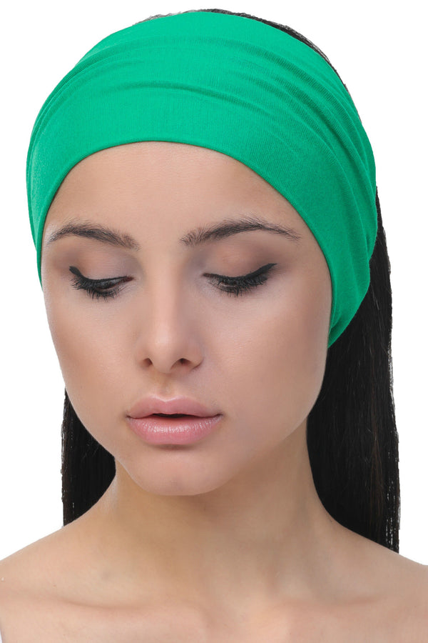 plain deresina headband benetton green