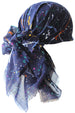 Deresina Four Seasons Plain Square Chemo Headscarf Navy Colour Palette