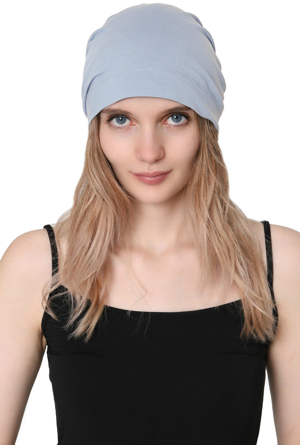 Simple Tie Bandana - Pale Blue