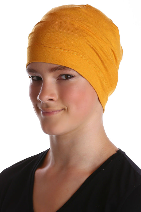 Deresina teen beanie for hairloss sunglow