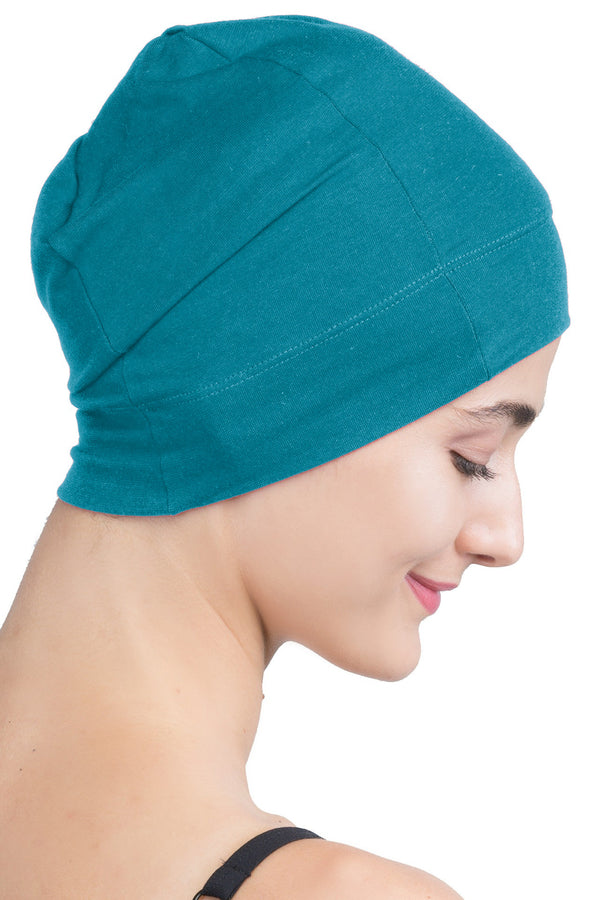 Snug Fit Sleep Cap - Spring Green