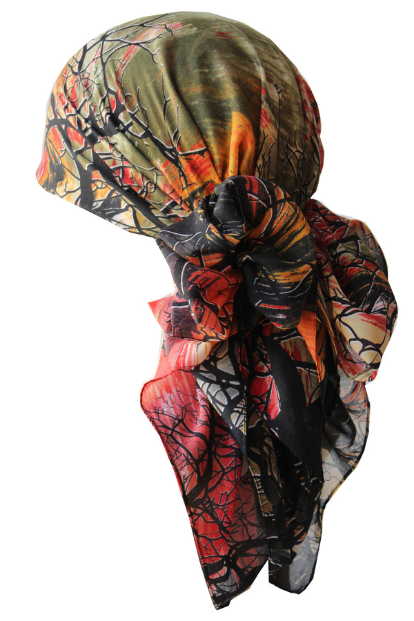 Everyday Square Head Scarf - Twilight TW106
