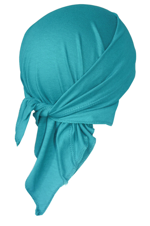 Deresina Teen indoor bandana for hairloss mint