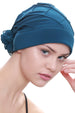 Deresina Diamond patterned hat for chemotherapie teal
