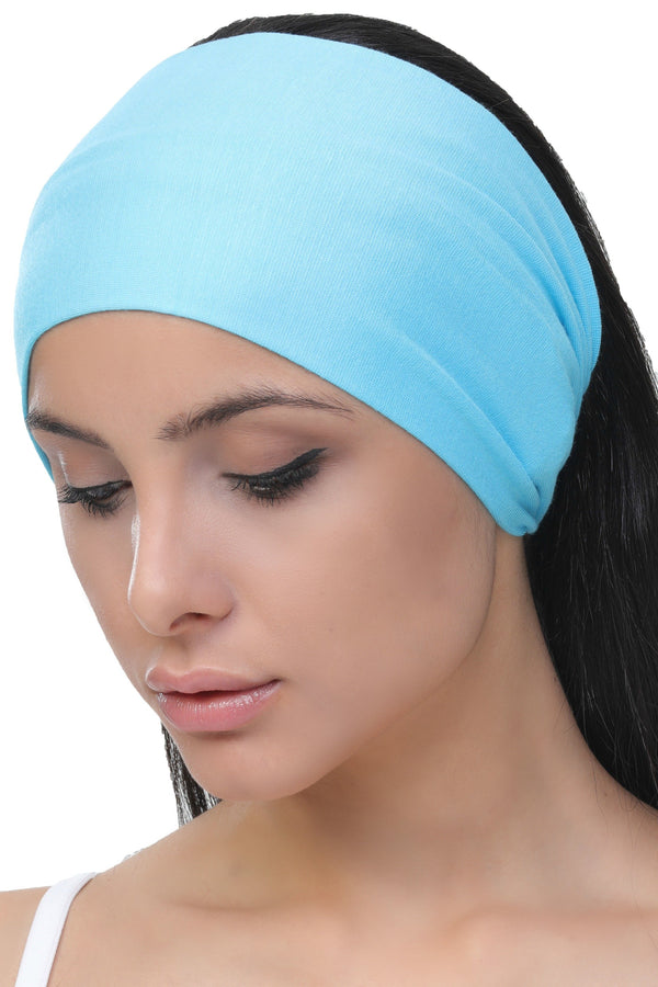 plain deresina headband tiffany blue