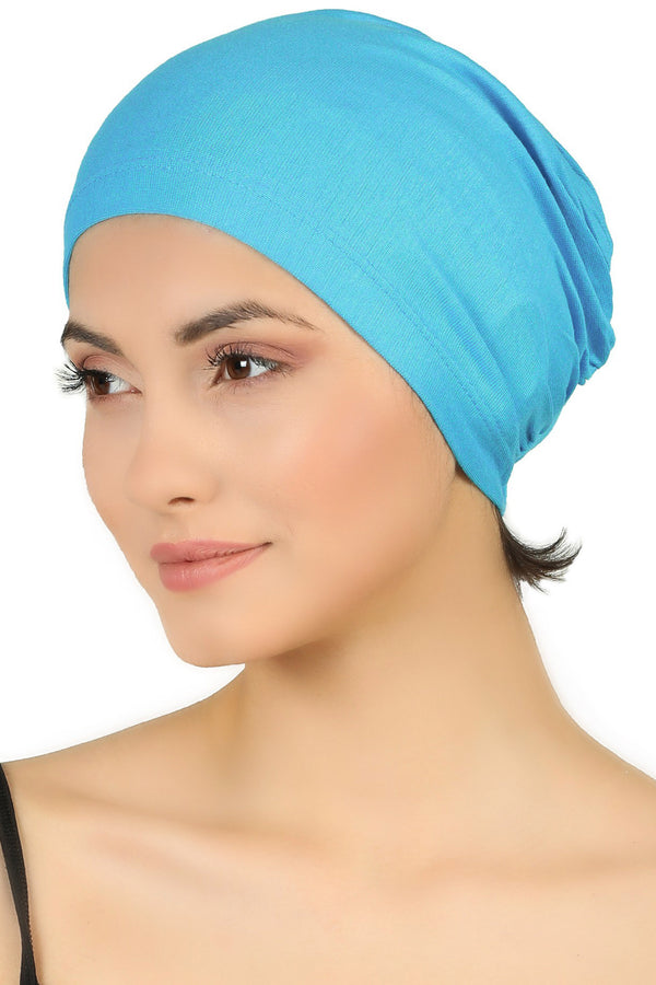 Essential Plain Cotton Cap - Tiffany Blue