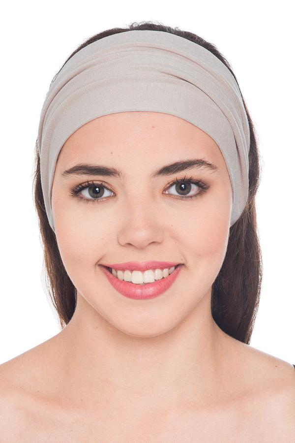 Plain Headband - Umber