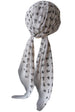 Deresina Easy tie chemo headscarf for girls white
