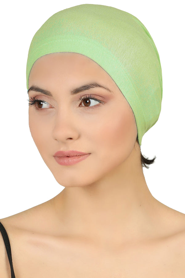 Essential Plain Cotton Cap - Apple Green